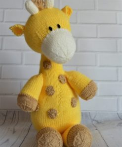 giraffe knitting pattern