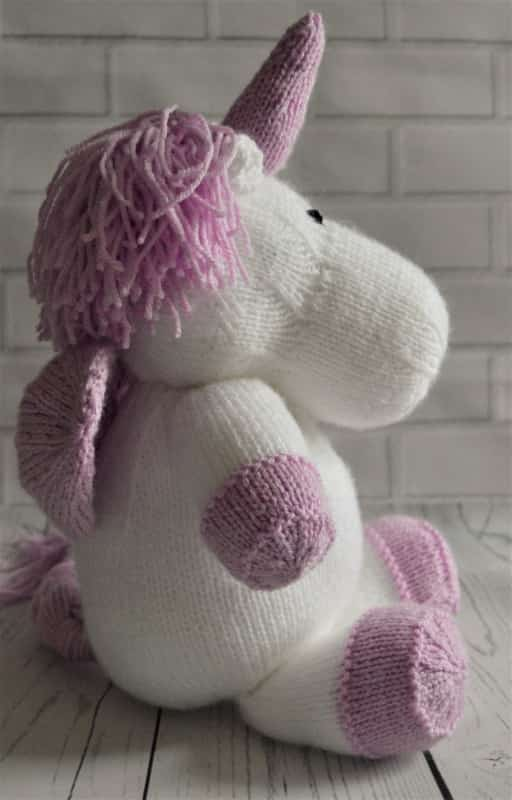 Sprinkle The Unicorn   Knitting by Post
