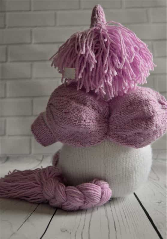 Sprinkle the Unicorn Knitting Pattern - Knitting by Post