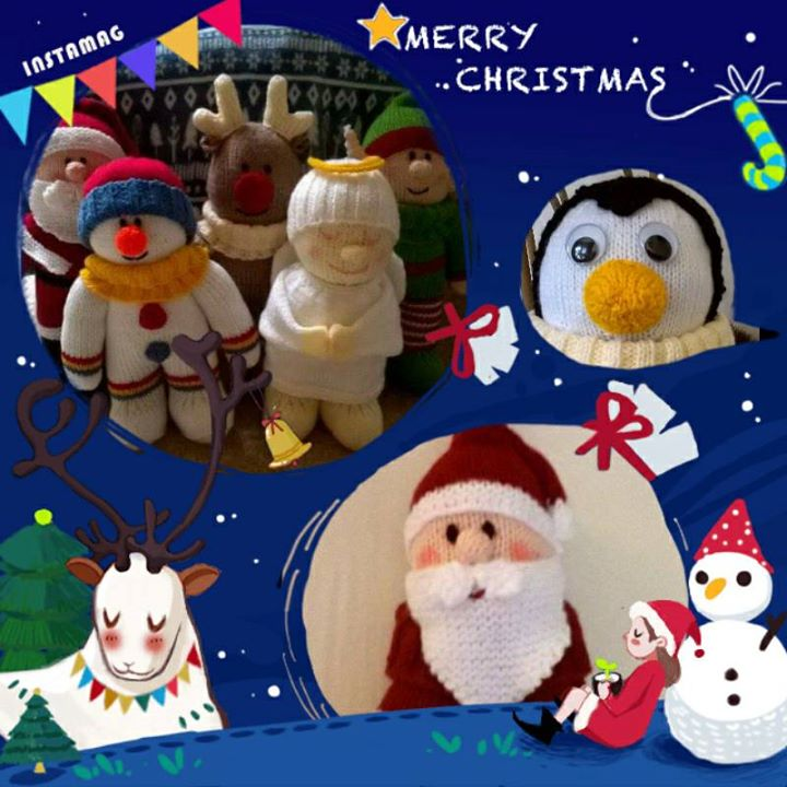 Merry Christmas Vicky  and everyone in the group can't wait for next year's patterns x