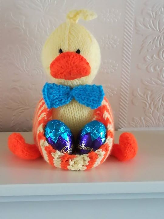 My first Ducky Egg! Getting ready for Easter x