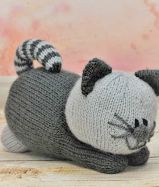 Kitten knitting pattern