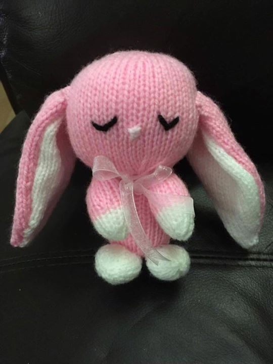 Bunny no 5!!! For a baby girl