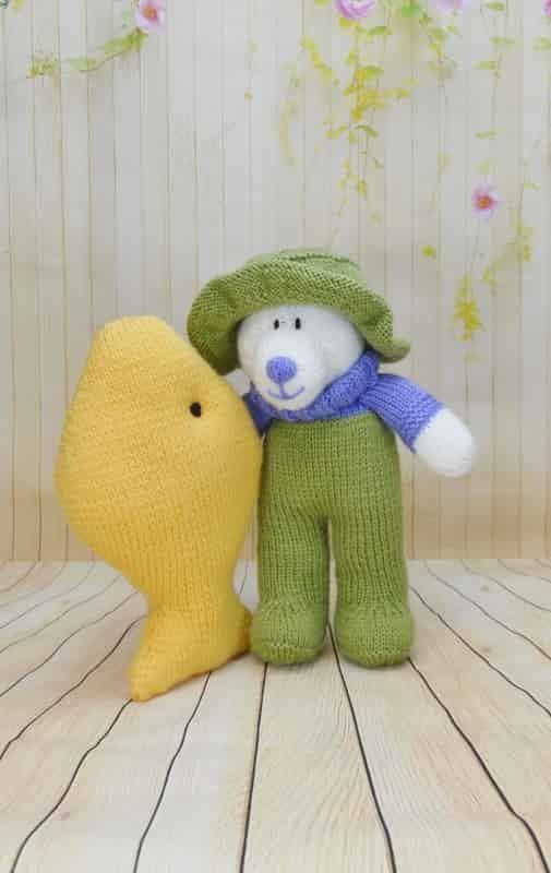 Knitting Patterns Toys Uk : Gone fishing knitting by post