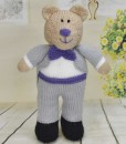 knitted groom pattern