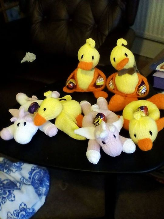 Some easter gifts for friends knitting by post some easter gifts for friends negle Choice Image