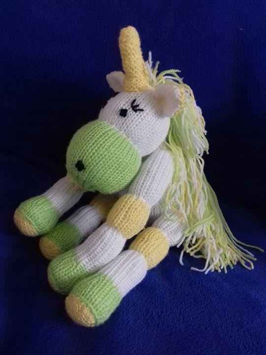 Unicorn Knitting Books : My unicorns so far knitting by post