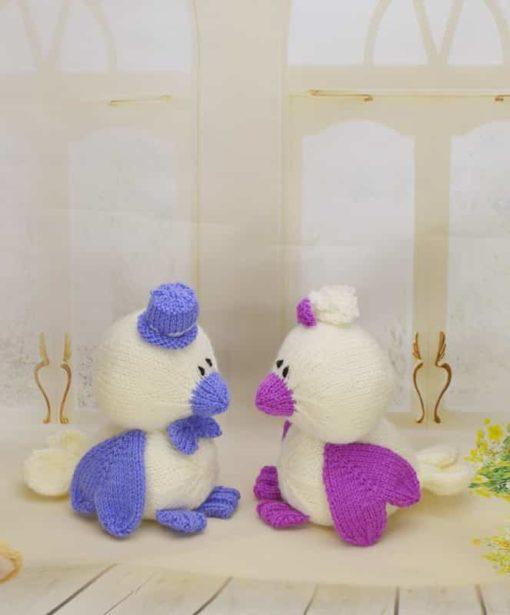 Love birds knitting pattern
