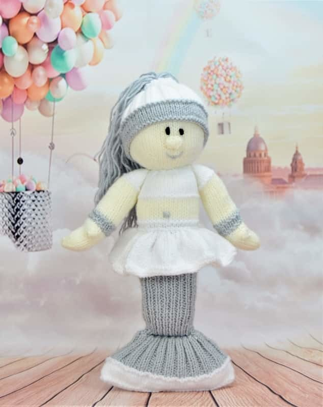 Free Knitting Pattern For Mermaid Doll : Mermaid Knitting Pattern   Knitting by Post