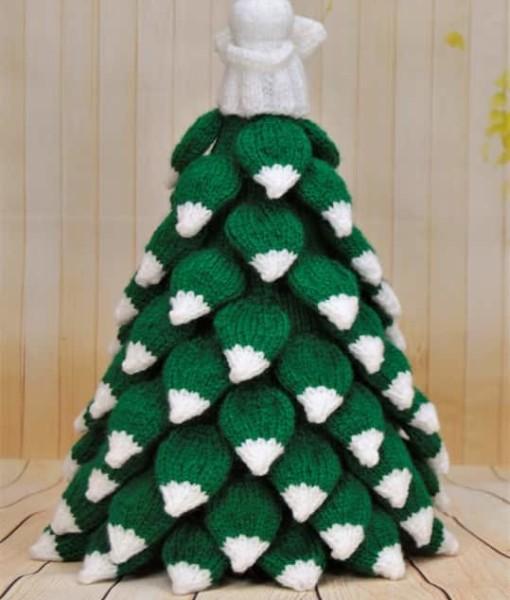 Knitting Pattern Christmas Tree: Knitting By Post