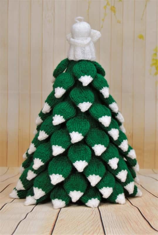 Christmas Tree Knitting By Post