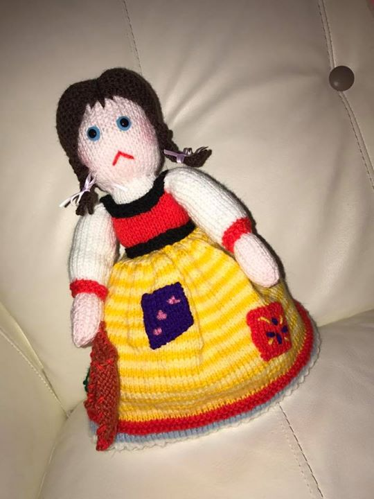 Just finished my Cinderella topsy turvy doll! My friend who ordered one for her granddaughter loves it.