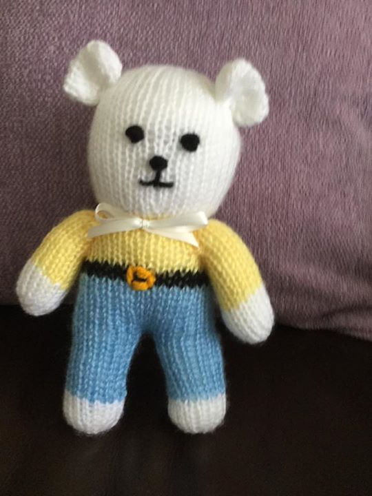 Mr ted for my friends great grandson.