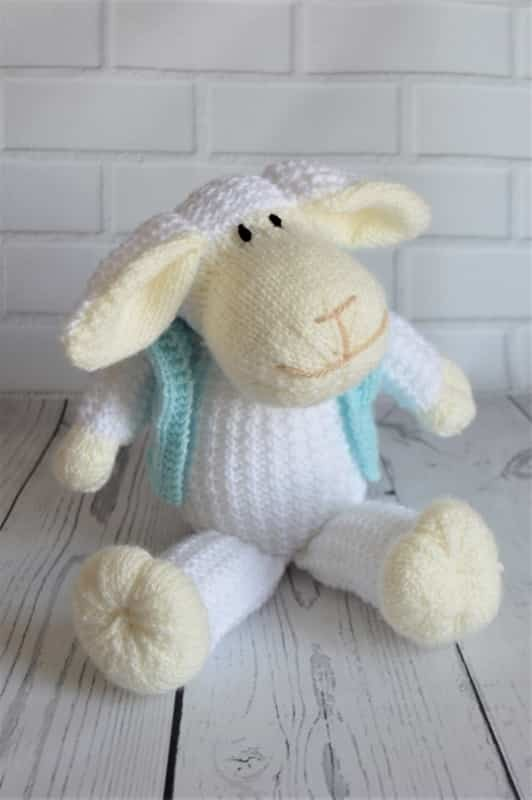 Mouton the Sheep   Knitting by Post