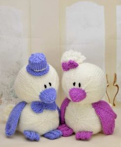 wedding birds knitting pattern