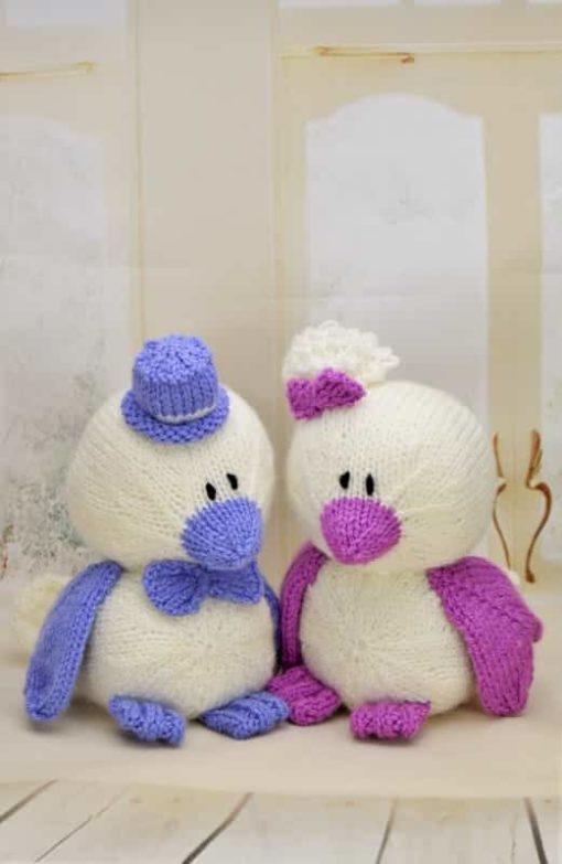 wedding birds knitting pattern