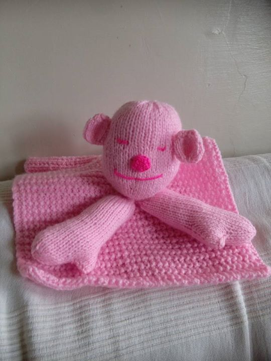 I have just knitted these for my twin granddaughters, second monkey still WIP :) x