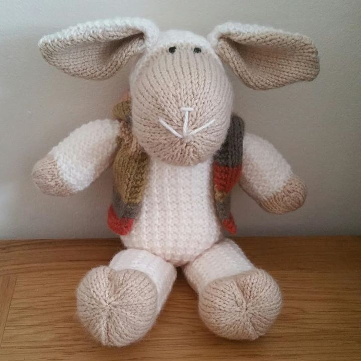 I  knitting Mouton the sheep. This is my second one.