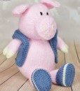 pig knitting pattern