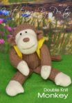 KBP-212 - Monkey Knitting Pattern Knitted Soft Toy