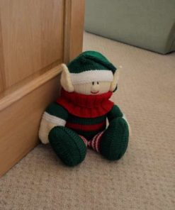elf doorstop knitting pattern