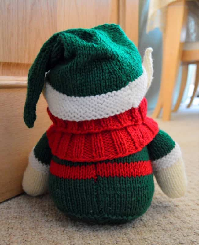 Knitted Elf Pattern : Elf Doorstop Knitting Pattern   Knitting by Post