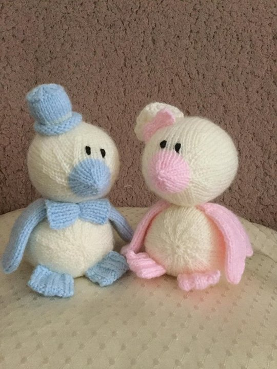 Knitted them over the weekend but just finished sewing them up xx