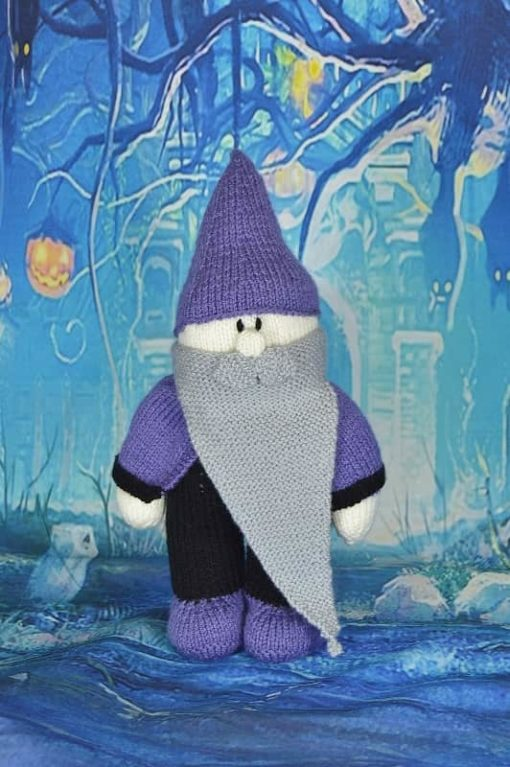 knitted wizard pattern