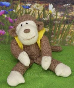 monkey knitting pattern