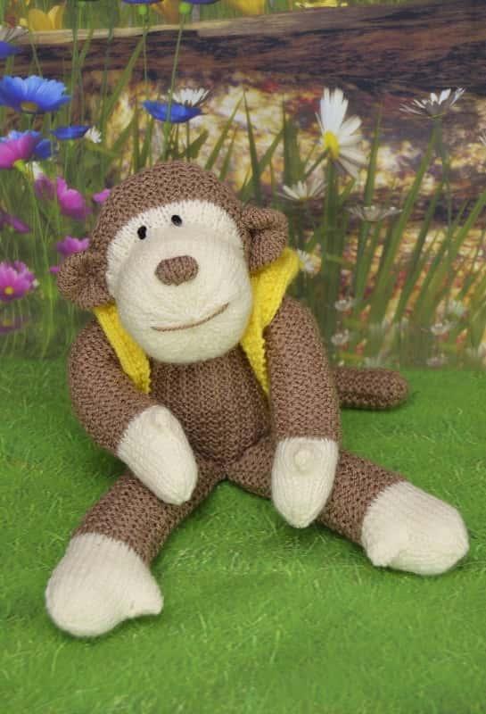 Monkey Knitting Pattern   Knitting by Post