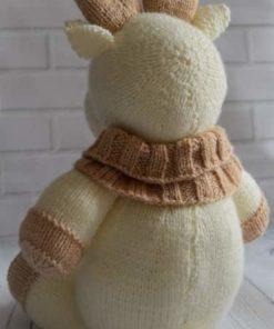 knitted reindeer pattern