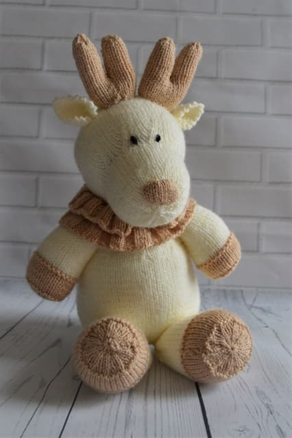Reindeer Softie Knitting By Post