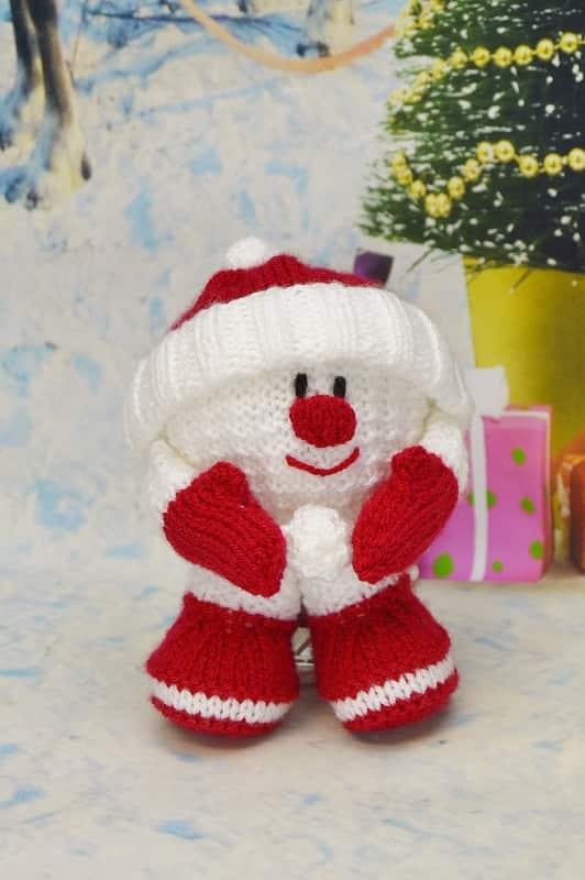 Snow Dog Knitting Pattern Free Download : Snowball Knitting Pattern   Knitting by Post