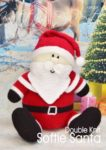 KBP-209 - Softie Santa Knitting Pattern Knitted Soft Toy