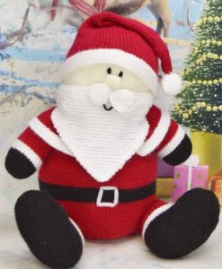 Santa Claus Knitting Pattern