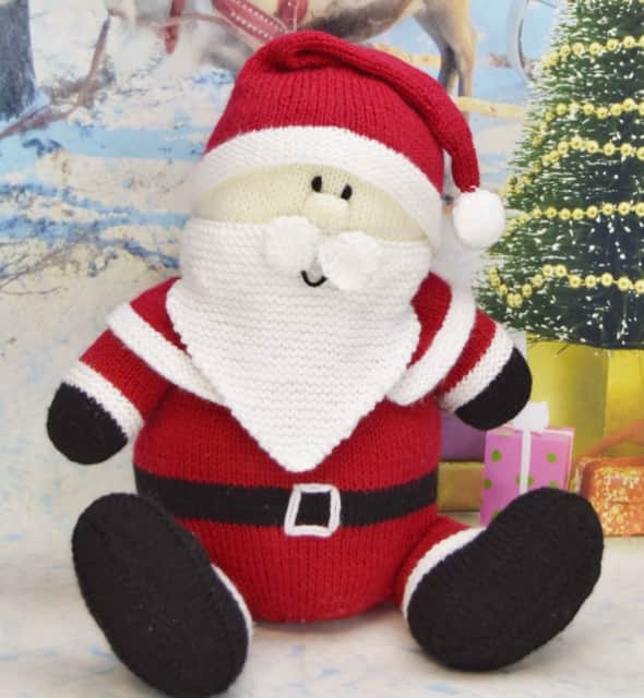 Santa Softie Knitting By Post