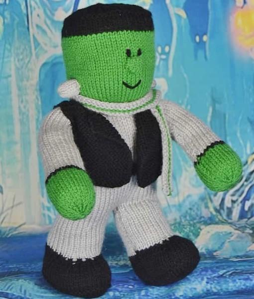 frankenstein knitting pattern