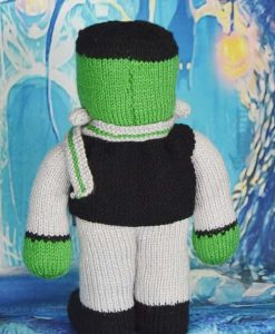 knitted frankenstein pattern