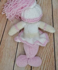 knitted mermaid pattern
