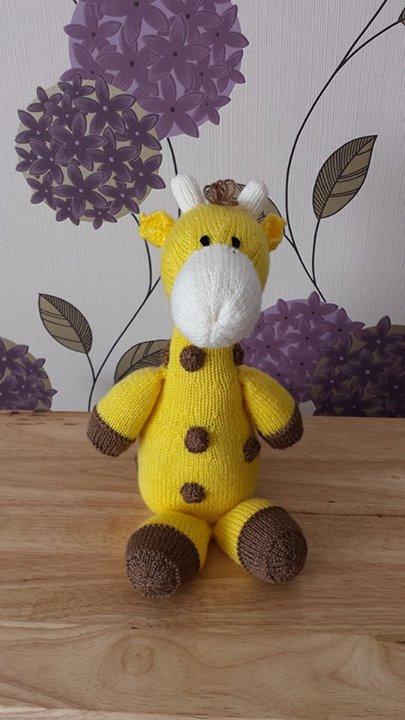 Pretty little giraffe...