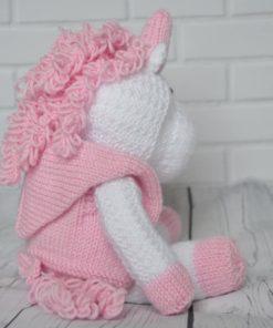 knitted unicorn pattern