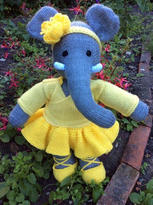 My elephant in yellow x