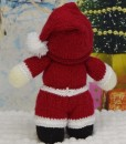 santa back knitting patterns
