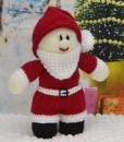 young santa knitting pattern