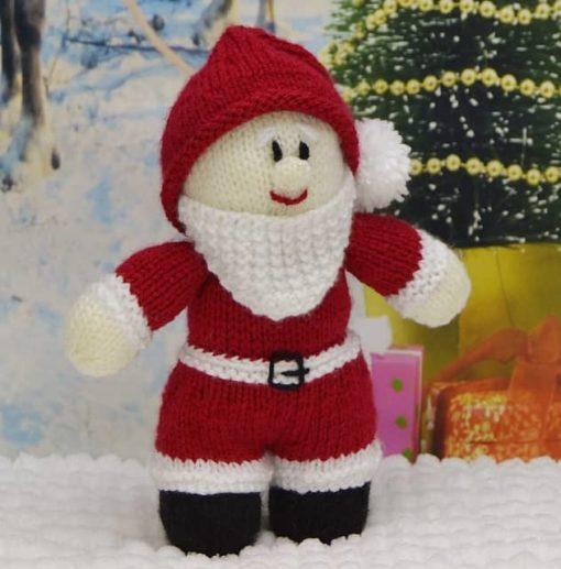 young santa knitting pattern