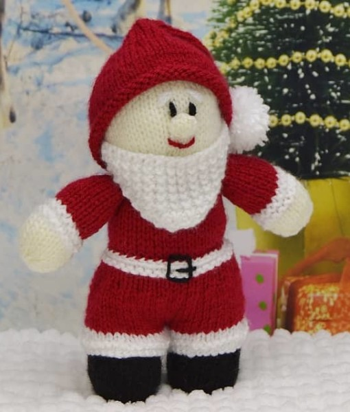 Knitting Patterns For Young Adults : Young Santa   Knitting by Post