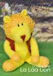 KBP-237 - Lion Knitting Pattern Knitted Soft Toy