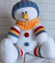 snowman knitting pattern