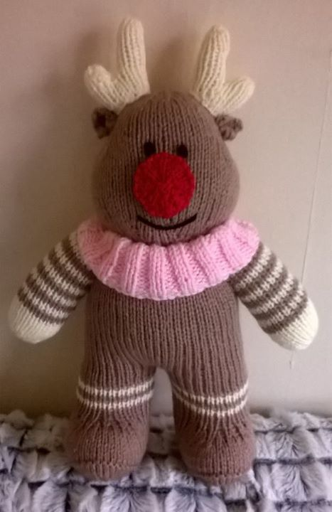 Another reindeer finished. Can't wait to see what pattern we get this week only 1 more sleep