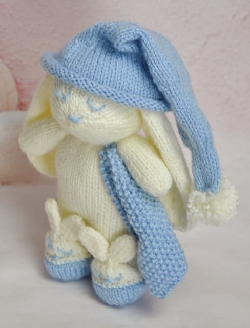 Winkie The Bunny Knitting By Post